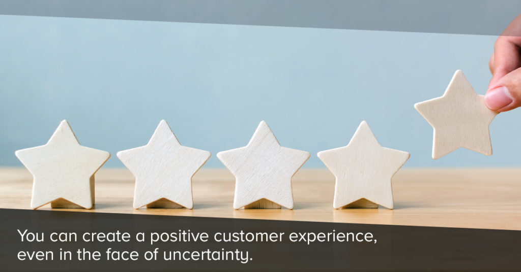 Customer gives brand a 5 star rating.