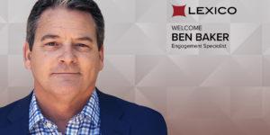 Ben Baker lexicoEngagement Specialist, Lexico