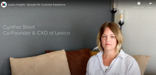 Cynthia Thomas of Lexico talks about Customer Experience